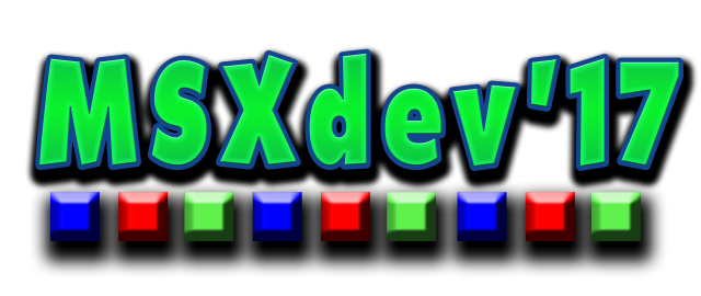 MSXdev'17 logo (small, transparent)